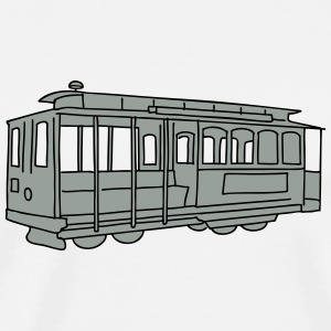 San Francisco Cable Car 2 Other - Men's Premium T-Shirt