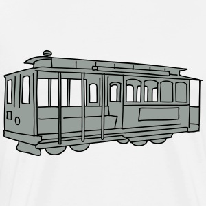 San Francisco Cable Car 2 Langarmshirts - Männer Premium T-Shirt