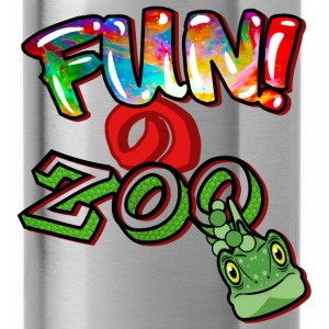 FUNのZOO LIZARD (BLACK) - Water Bottle
