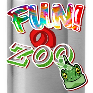 FUNのZOO LIZARD (WHITE) - Water Bottle