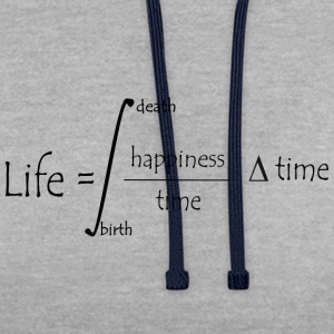 Life equation T-Shirts - Contrast Colour Hoodie