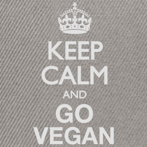 Keep Calm (Vegan) T-Shirts - Snapback Cap