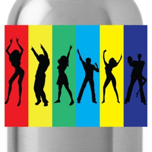 Rainbow Club T-Shirts - Water Bottle