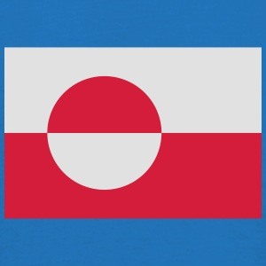 Flagge Grönland; Greenland Bags & Backpacks - Men's T-Shirt