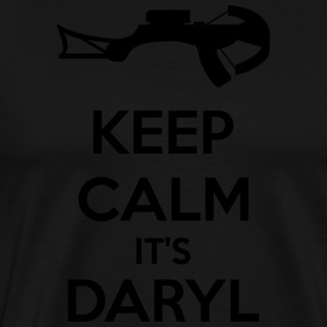Keep Calm It's Daryl  Aprons - Men's Premium T-Shirt