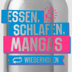Hobby Mangas T-Shirts - Trinkflasche
