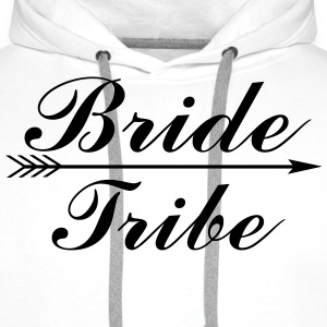 Bride Tribe Tops - Men's Premium Hoodie