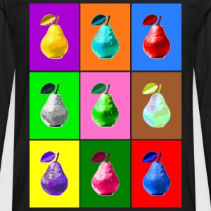 Pop Art Birne, Pop Art Pear Hoodies & Sweatshirts - Men's Premium Longsleeve Shirt