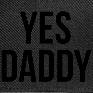 Yes daddy Underwear - Snapback Cap
