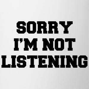 Sorry i'm not listening T-shirts - Mok