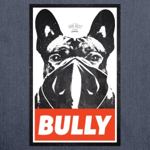 Bully Streetart T-Shirts - Schultertasche aus Recycling-Material