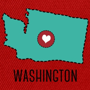 Washington State Herz T-shirts - Snapback cap