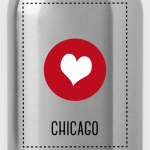 I Love Chicago Tops - Cantimplora
