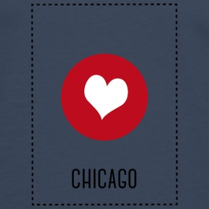 I Love Chicago Tops - Men's Premium Longsleeve Shirt