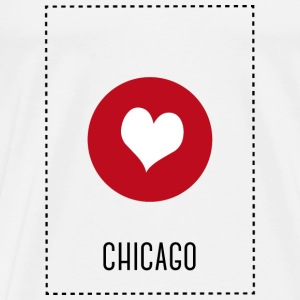 I Love Chicago Other - Men's Premium T-Shirt