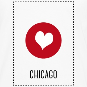 I Love Chicago Other - Men's Premium Longsleeve Shirt