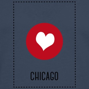 I Love Chicago Tee shirts - T-shirt manches longues Premium Homme