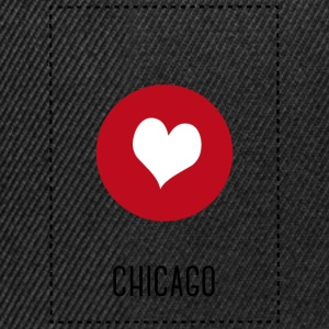 I Love Chicago T-skjorter - Snapback-caps