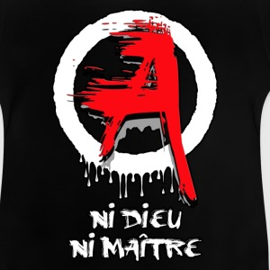 Anarchie - anarchy 01 Tee shirts - T-shirt Bébé