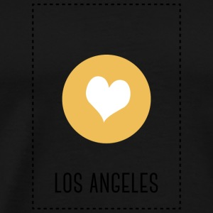 I Love Los Angeles Langærmede t-shirts - Herre premium T-shirt