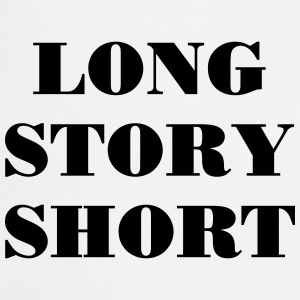 Long Story short Tee shirts - Tablier de cuisine