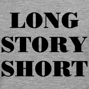 Long Story short Tee shirts - T-shirt manches longues Premium Homme