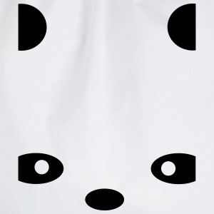abstract Panda Long Sleeve Shirts - Drawstring Bag