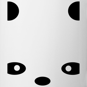 abstract Panda T-Shirts - Mug