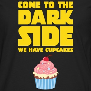 Come To The Dark Side - We Have Cupcakes T-skjorter - Premium langermet T-skjorte for menn