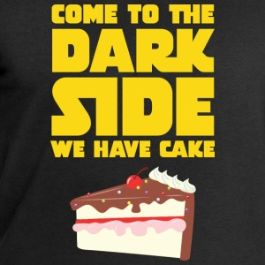 Come To The Dark Side - We Have Cake T-Shirts - Men's Sweatshirt by Stanley & Stella