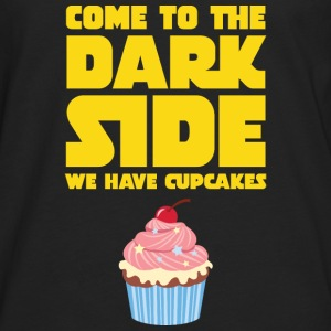 Come To The Dark Side - We Have Cupcakes T-shirts - Långärmad premium-T-shirt herr