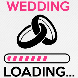 wedding loading - Stag do - hen party T-Shirts - Baseballkappe