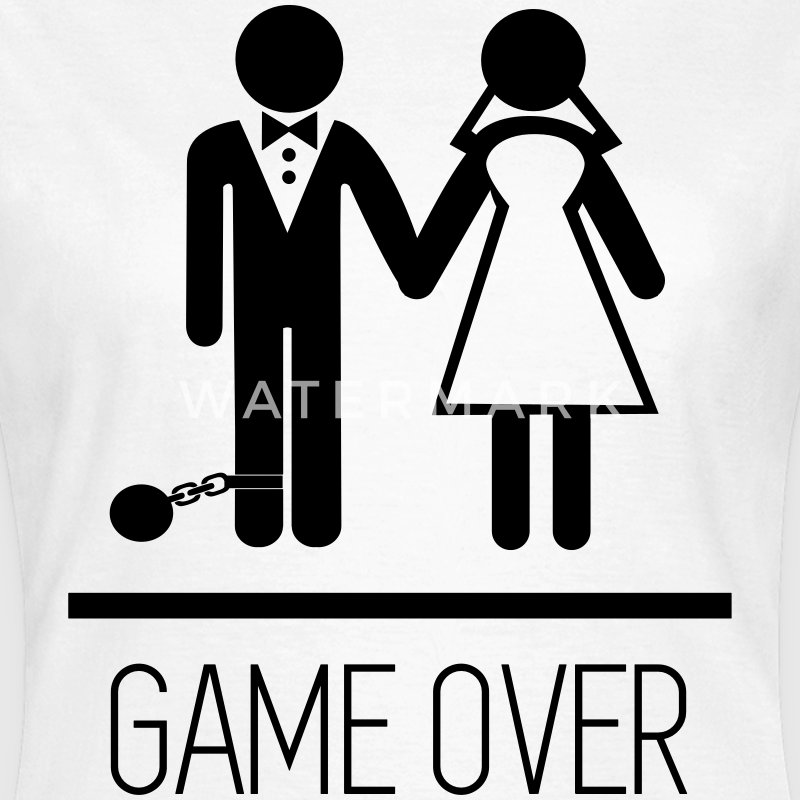 Game over - Stag do - Hen party - Funny T-Shirts - Women's T-Shirt