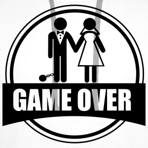 Game over - Stag do - Hen party - Funny T-Shirts - Männer Premium Hoodie