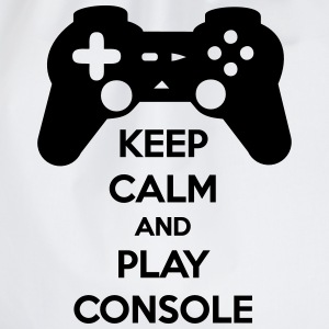 KEEP CALM AND PLAY CONSOLE T-Shirts - Drawstring Bag