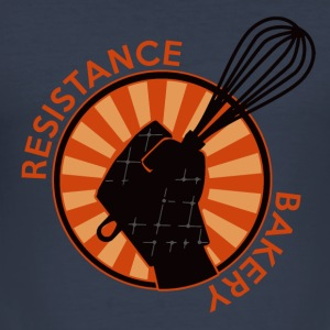 Resistance Bakery Hoodies & Sweatshirts - Men's Slim Fit T-Shirt