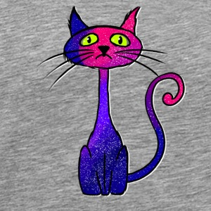 Purple cat Sports wear - Men's Premium T-Shirt