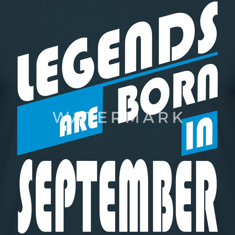 Legends of September T-Shirts - Men's T-Shirt