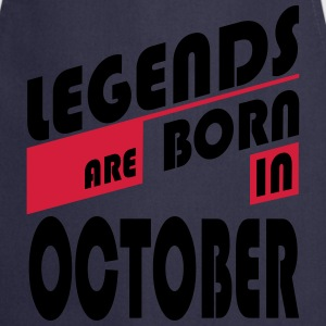 Legends October T-Shirts - Delantal de cocina