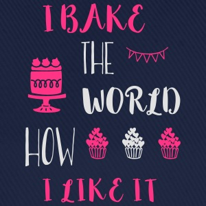 I bake the world Schürzen - Baseballkappe