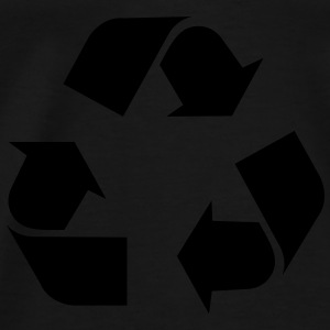 Recycle Toppe - Herre premium T-shirt