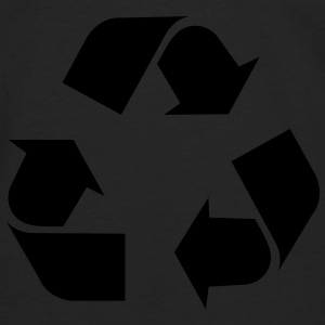 Recycle Tops - Camiseta de manga larga premium hombre