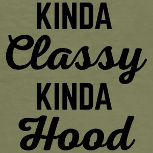 Kinda Classy Funny Quote Other - Men's Slim Fit T-Shirt