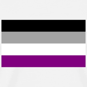 Asexual Pride Badge - Men's Premium T-Shirt