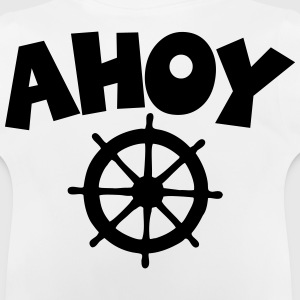 Ahoy Wheel Segel Design Shirts - Baby T-Shirt
