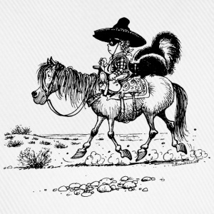 Thelwell 'Cowboy with a skunk' T-Shirts - Baseball Cap