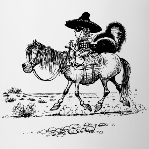 Thelwell 'Cowboy with a skunk' T-Shirts - Mug