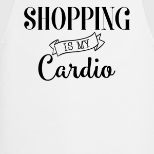 Shopping is my cardio - Tablier de cuisine