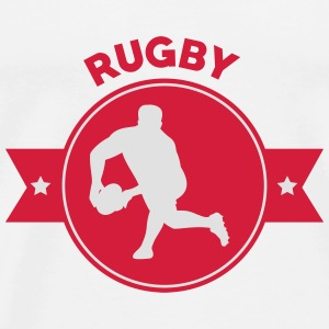 Rugby - Rugbyman - Sport - Fighter - Fight Baby Bodysuits - Men's Premium T-Shirt