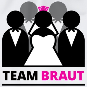 Team Braut T-Shirts - Turnbeutel